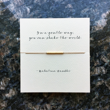 Mai Lin In A Gentle Way Reminder Bracelet