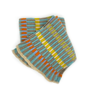 Katie Mawson Irthing Block Striped Scarf KMASC7IRTHING