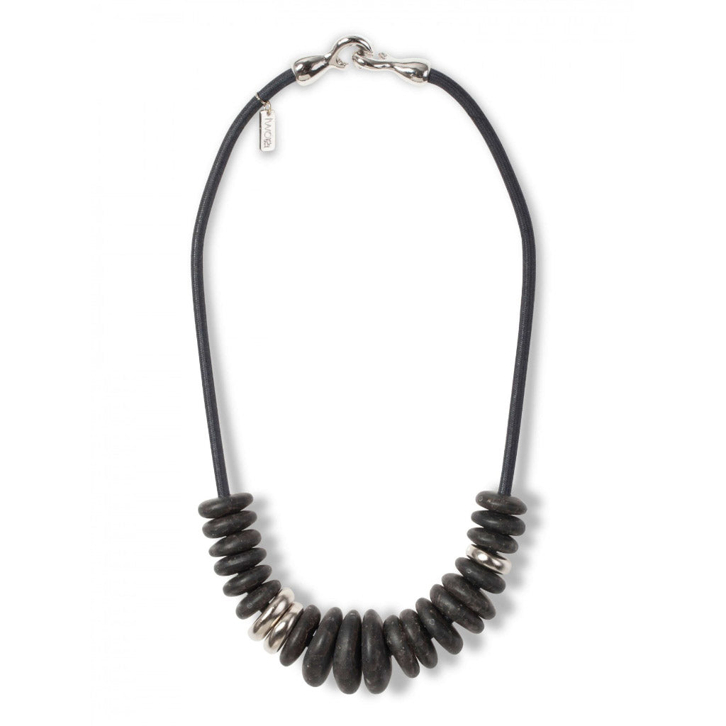 Two A Lisa Resin Necklace N390-01 DUST