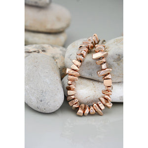 Two A Long Stone Necklace N380-05-ROSE/MOCHA
