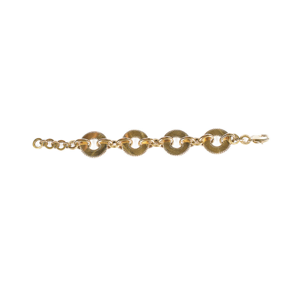 Michelle Ross Maci Gold Bracelet KB05