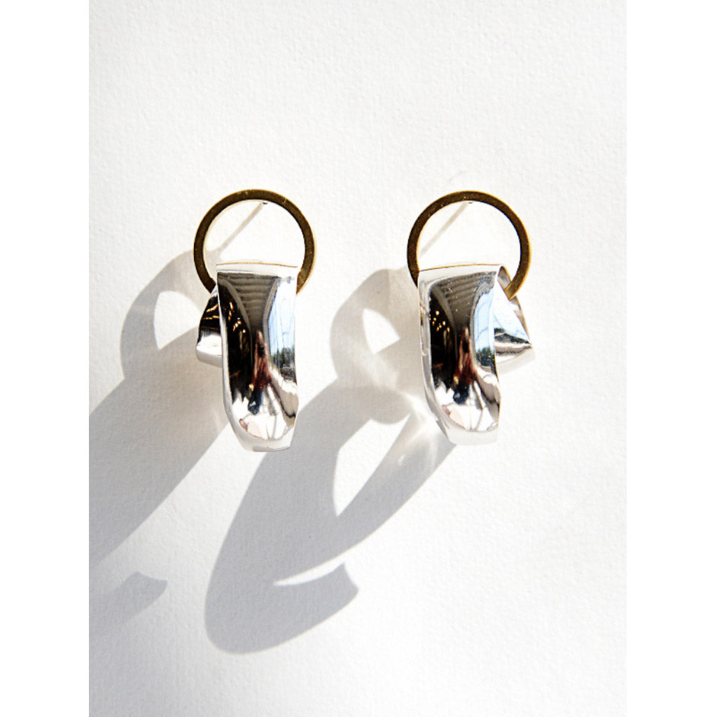 Michelle Ross Mara Silver Earrings LE04