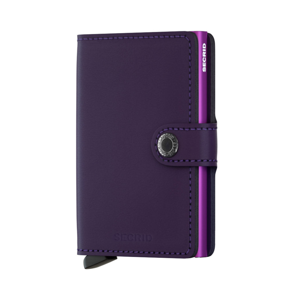 Secrid Matte Purple Miniwallet