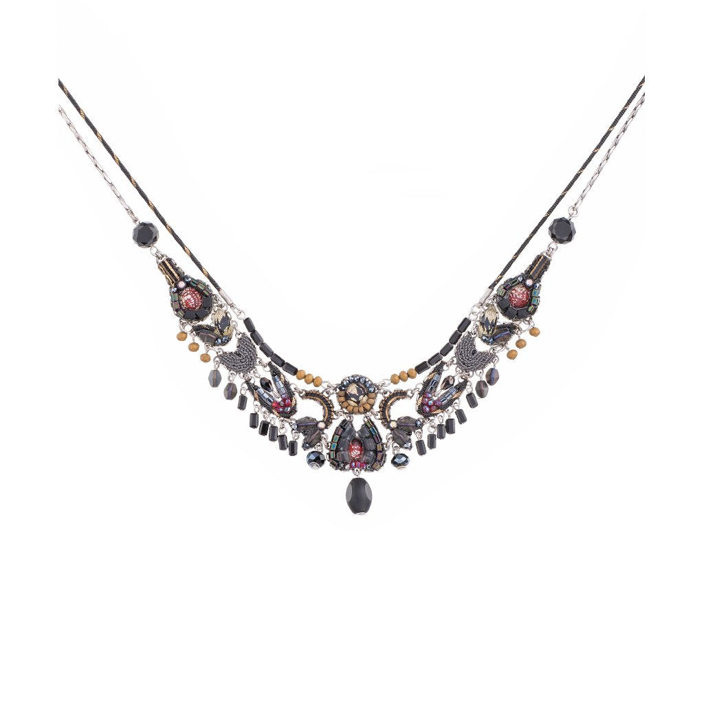Ayala Bar Moon Jet Chandana Necklace C3089