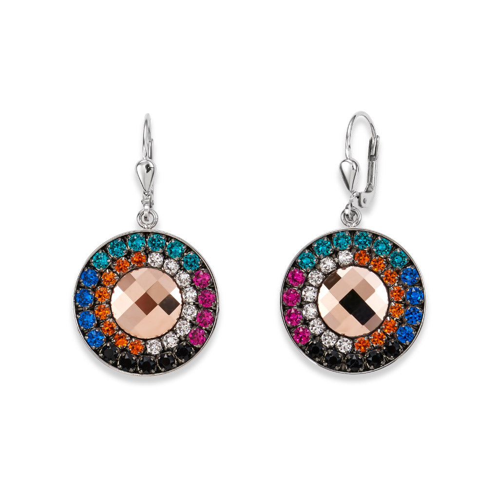 COEUR DE LION Multicolour Winter Drop Earrings 4836-20-1541