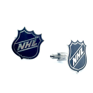Cuff Stuff NHL Cufflinks NHLLOGO
