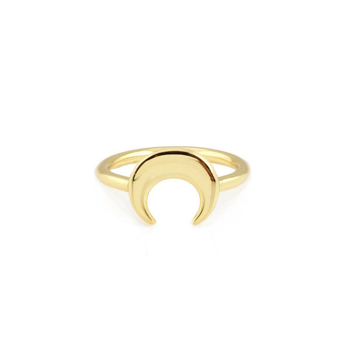 Kris Nations Naja Crescent Ring R253