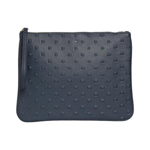 Ela Navy Stud Editor's Pouch E001S-NVY