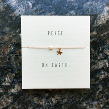 Mai Lin Peace On Earth Holiday Reminder Bracelet