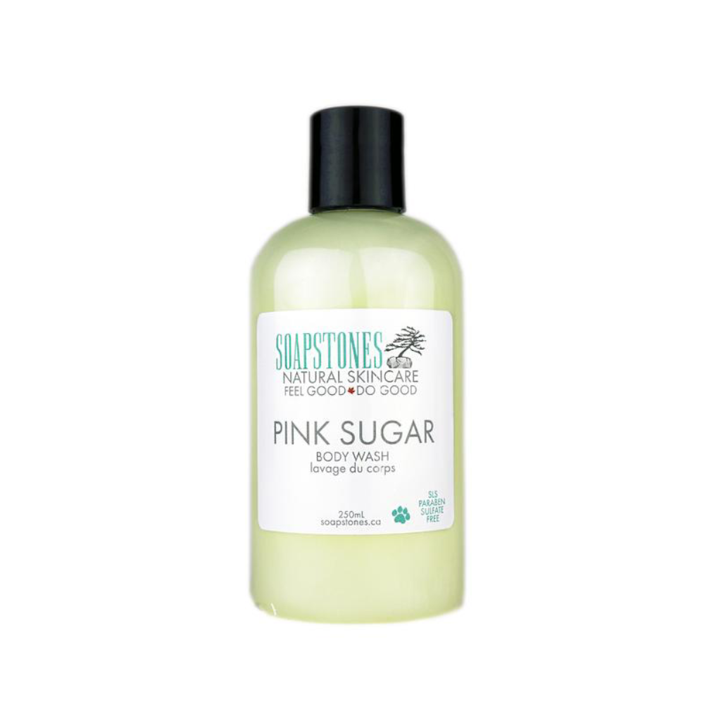 Soapstones Pink Sugar Body Wash