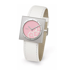 Pierre Junod Pink Square Watch
