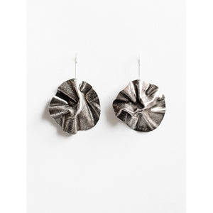 Michelle Ross Reem Antique Silver Earrings HE17