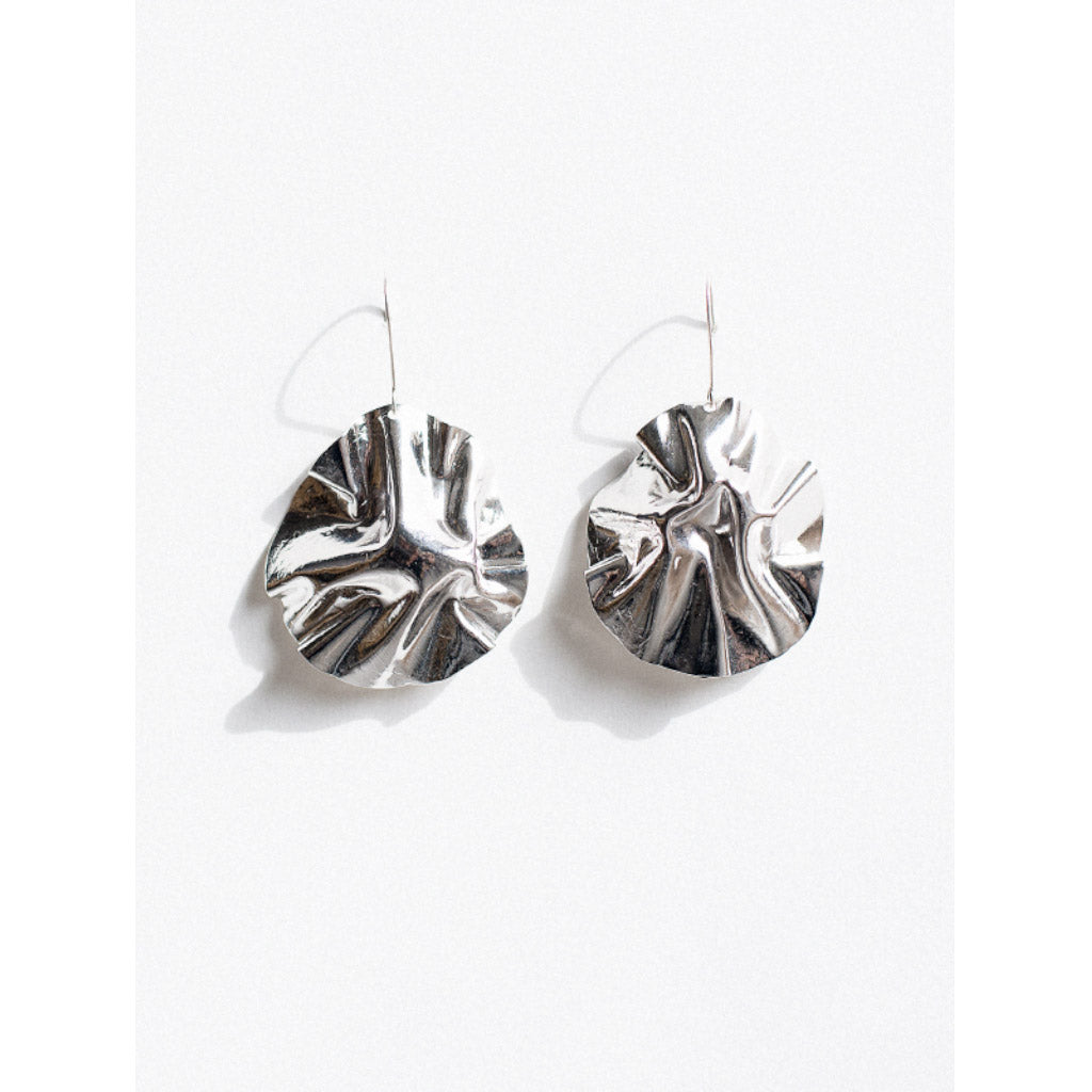 Michelle Ross Reem Silver Earrings HE18