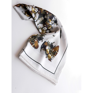 Michelle Ross Roisin Silk Scarf RS01