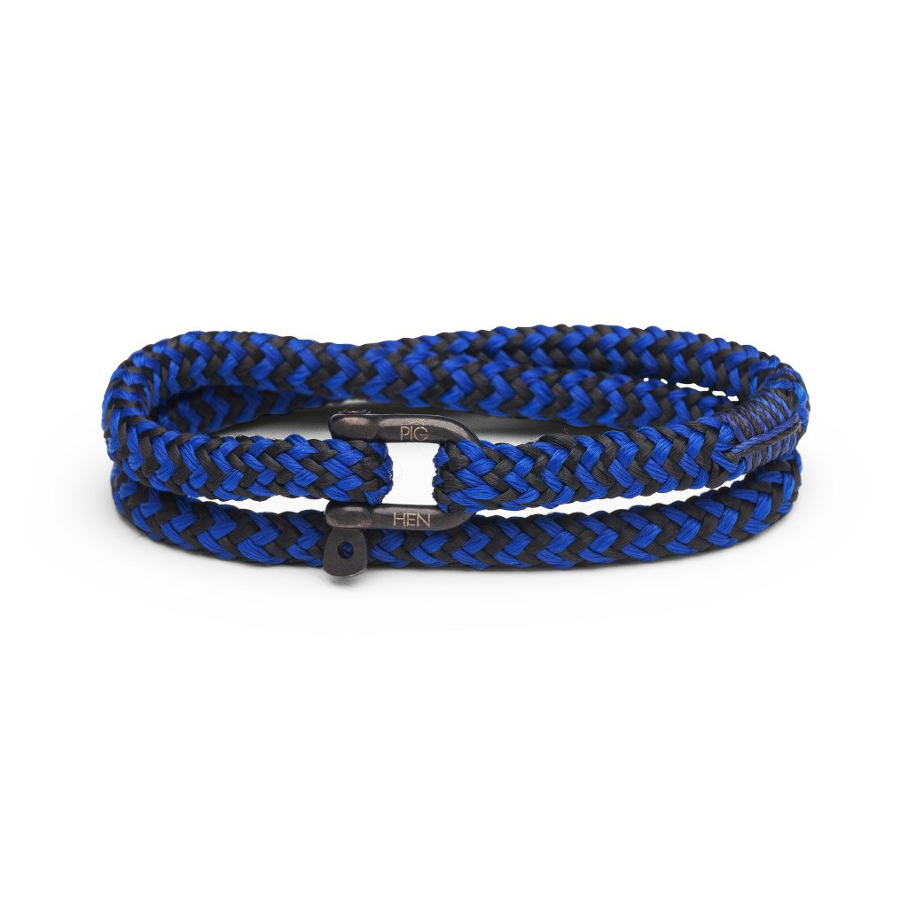 Pig & Hen Salty Slim Cobalt Black