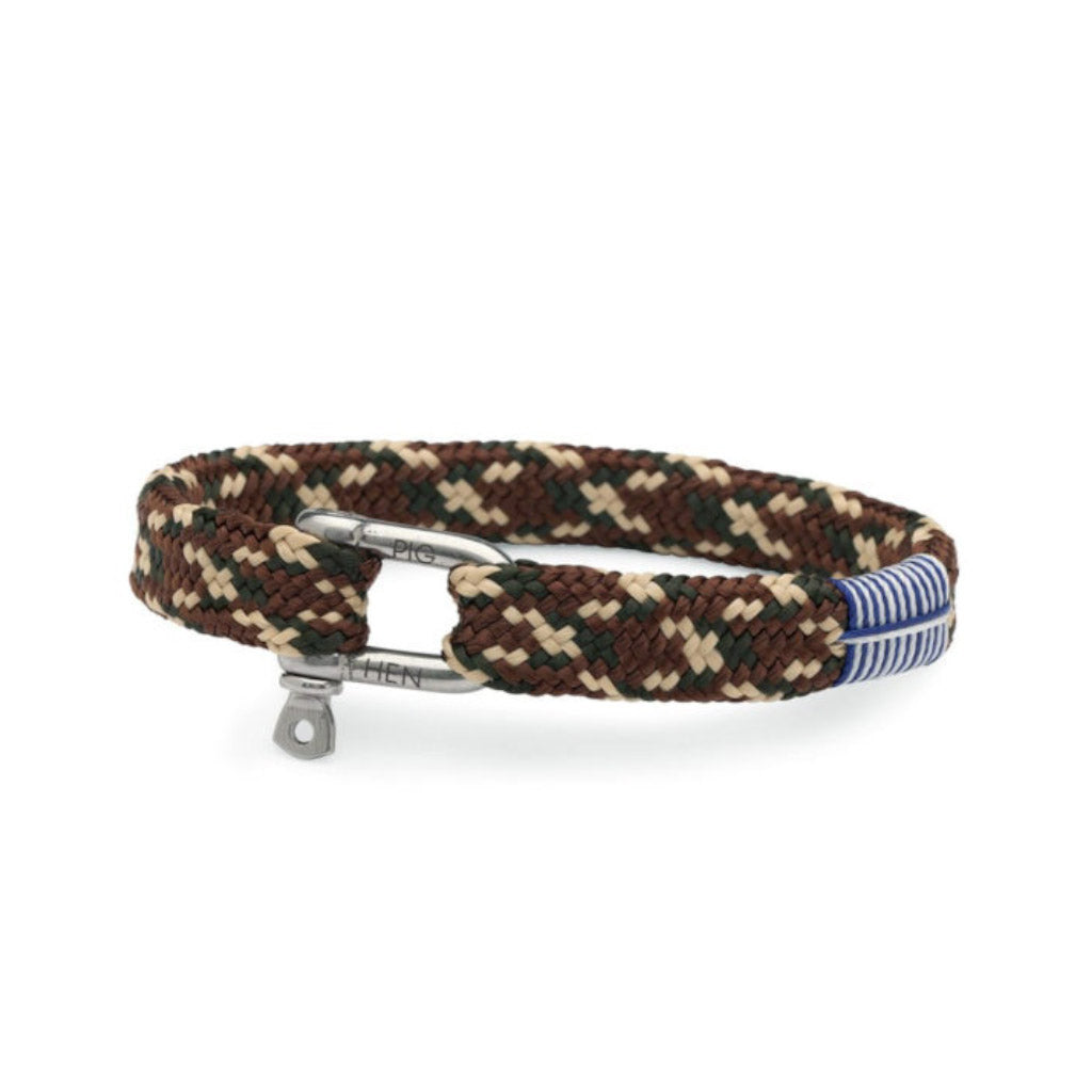 Pig&Hen Sharp Simon Army Brown Sand Camo Bracelet SSABSC