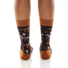 Yo Sox Show Pony Women's Crew Socks 412132