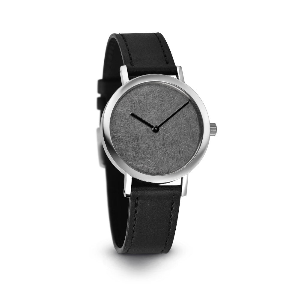 Pierre Junod Silver Leaf Watch