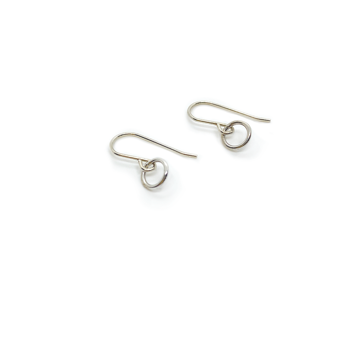 Erin Wallace Small Circle Earrings E0610