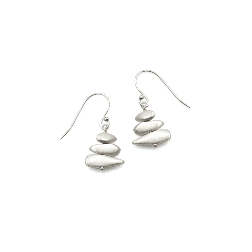 Philippa Roberts Stacked Pebble Earrings 10706se