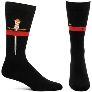 Ozone Stiletto Knife Socks MC131-19