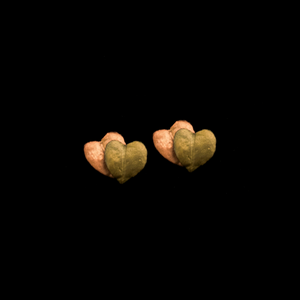 Silver Seasons Sweet Potato Vine Studs 3573BZ