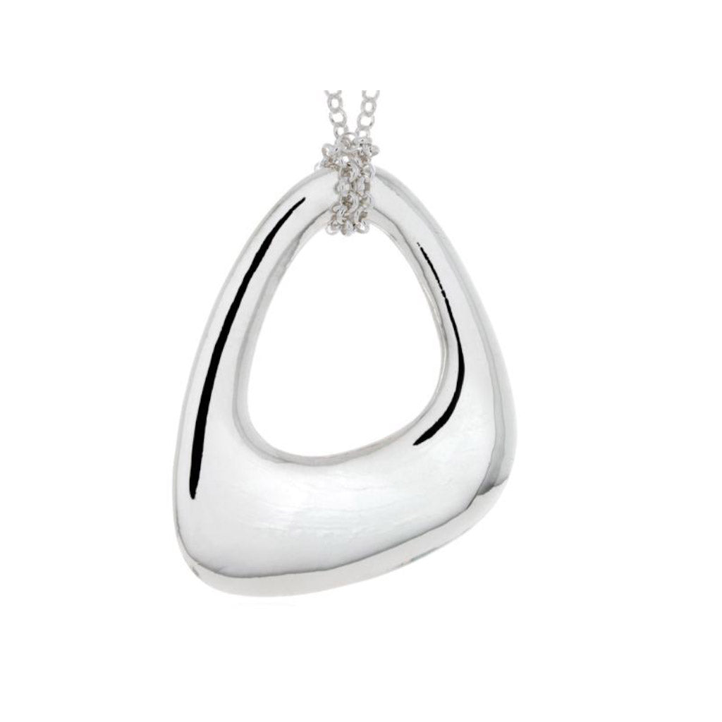 Pamela Lauz Terra Grand Open Pebble Pendant TER-S014