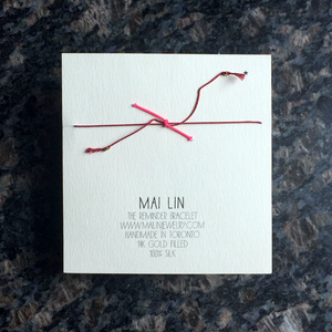 Mai Lin The Tiny Treasure Reminder Bracelet
