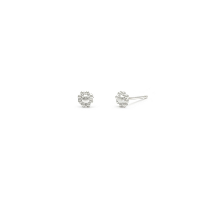 Laughing Sparrow Tiny Daisy Studs 170-14