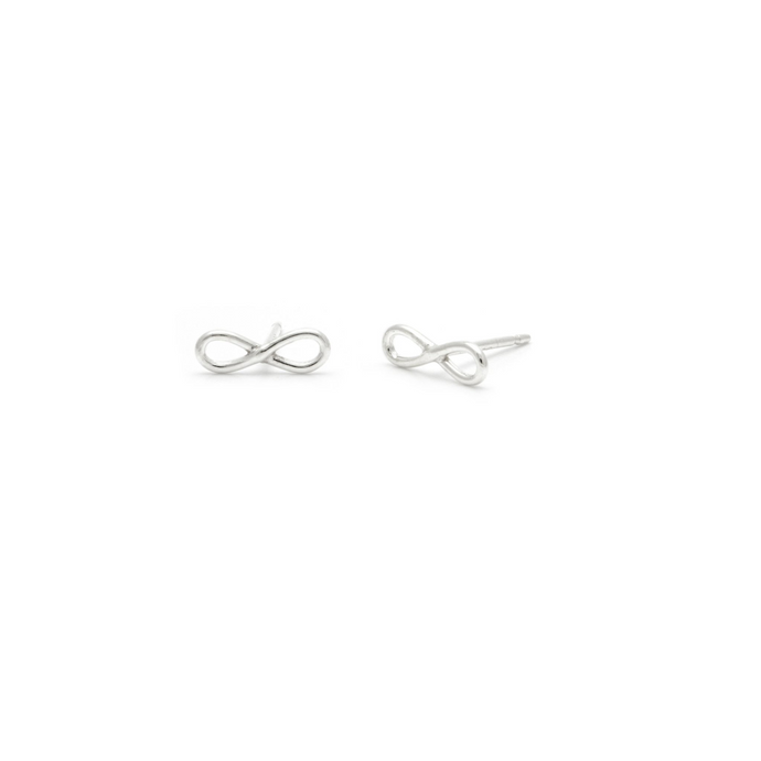 Laughing Sparrow Tiny Infinity Studs 170-07
