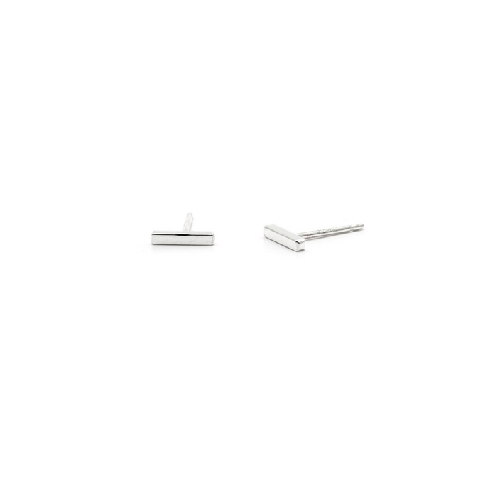 Laughing Sparrow Tiny Square Bar Studs 170-05