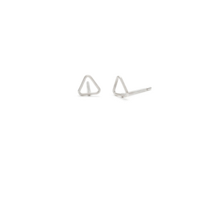 Laughing Sparrow Tiny Triangle Studs 170-15