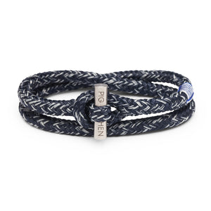 Pig & Hen Tiny Ted Navy Light Grey