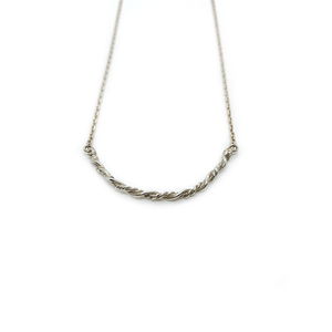 Erin Wallace Twisted Smile Necklace N0401