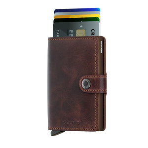 Secrid Vintage Chocolate Miniwallet