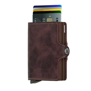 Secrid Vintage Chocolate Twinwallet