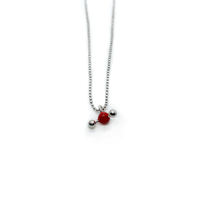 Slashpile Water Molecule Necklace