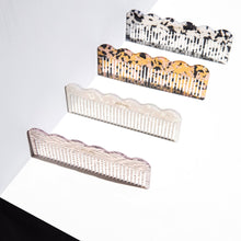 Poketo Pearlescent Wave Comb 12282