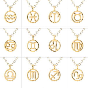 Kris Nations Zodiac Outline Necklace N795