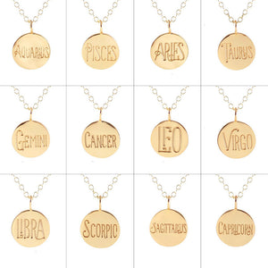 Kris Nations Zodiac Charm Necklace