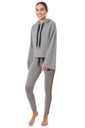 Gottex Studio Combo French Terry Hoodie - Gottex Studio