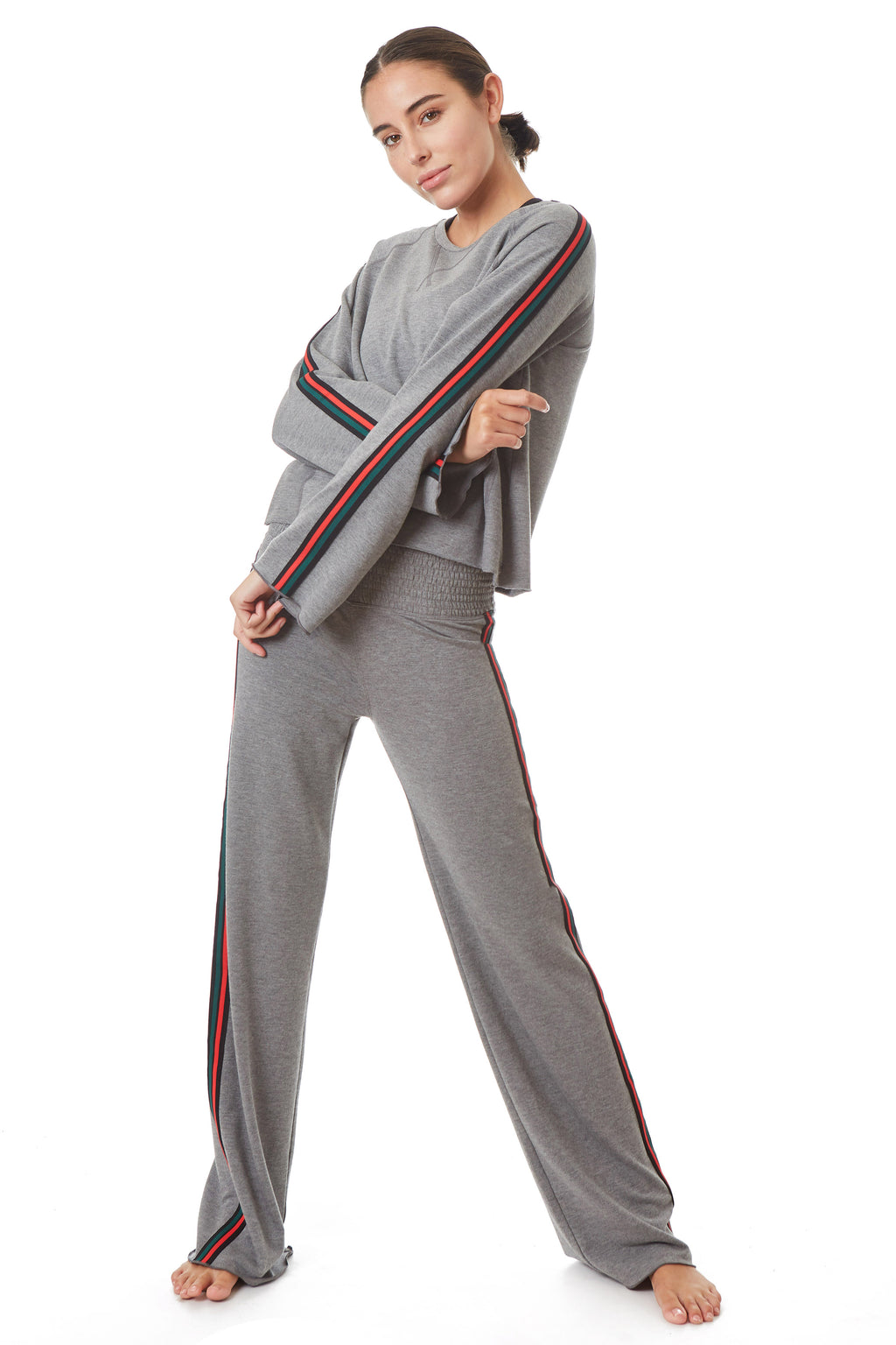 Gottex Studio Stripe Smocking Pants - Gottex Studio