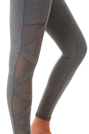 Gottex Studio Cross Mesh Block Legging