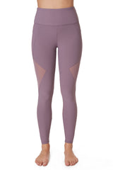 Blocked Mesh Leggings - Gottex Studio