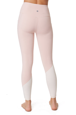 Block Ankle Legging - Gottex Studio