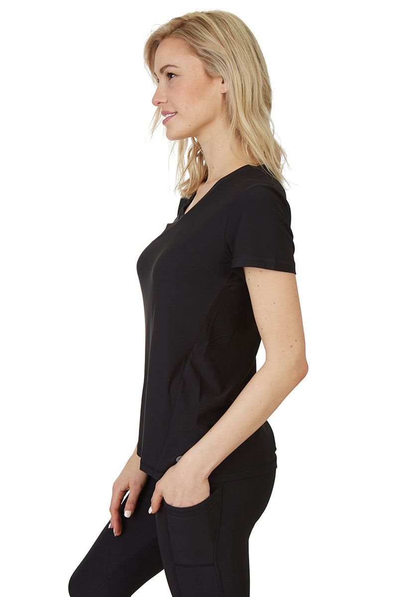 Gottex Studio Honey Comb Loose Fit Sleeve Top - Gottex Studio