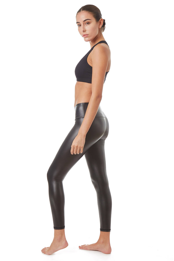 Gottex Studio Faux Leather Legging - Gottex Studio