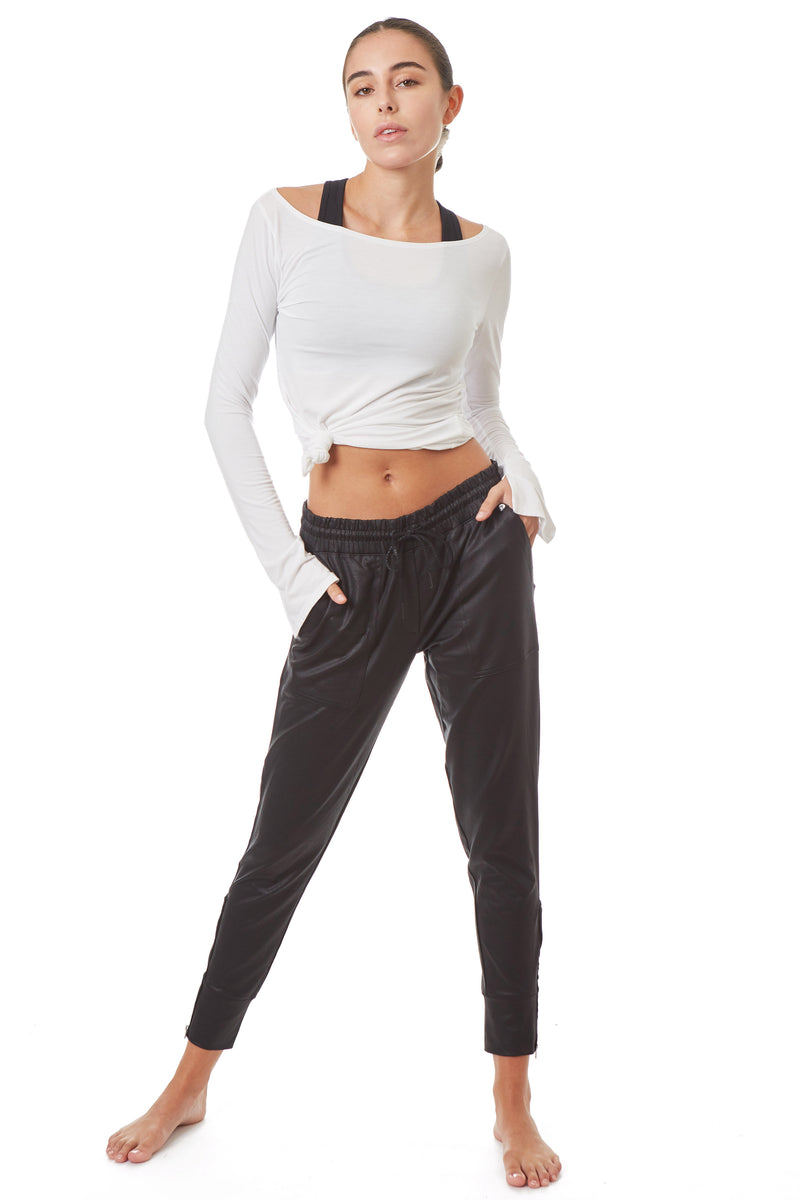 Signature Zipper Jogger - Gottex Studio