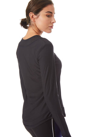 Gottex Studio Round Long Sleeve Top