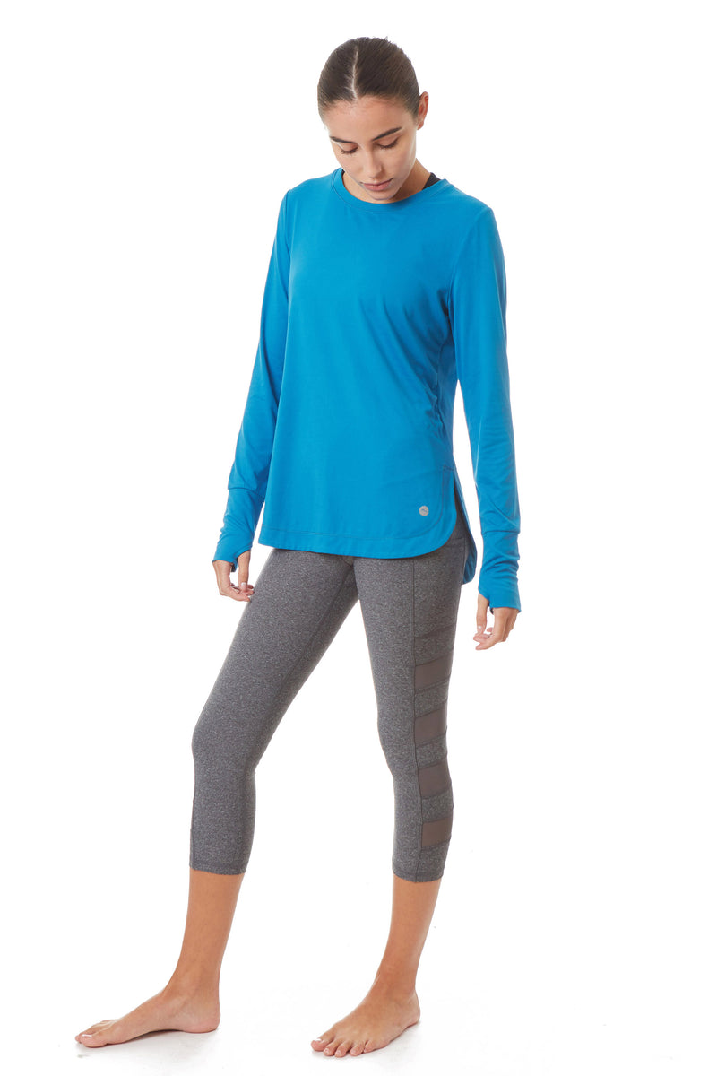 Gottex Studio Loose Fit Long Sleeve Top